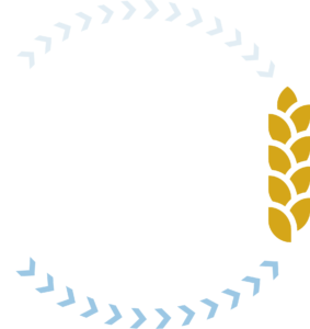 Ending Global Hunger Logo_White_Blue_Gold