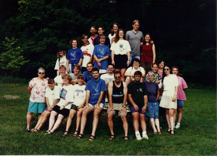 Carla's Brethren Volunteer Service orientation in 1996.