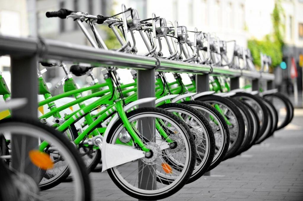 reduce GHG emissions with bike sharing