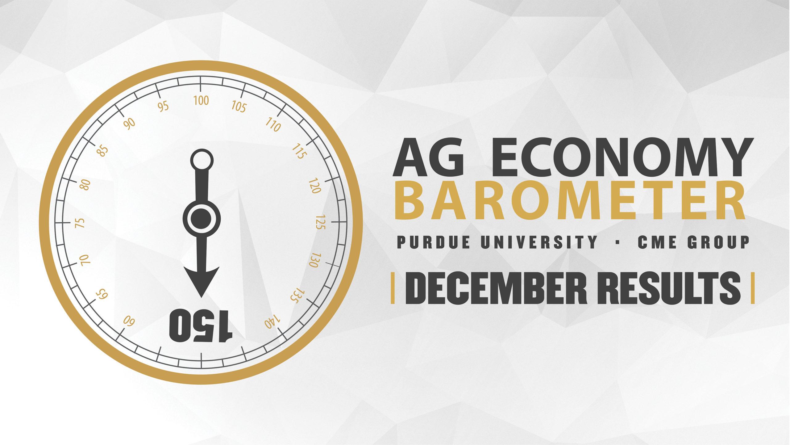 Ag Economy Barometer Widget December 2019: 150