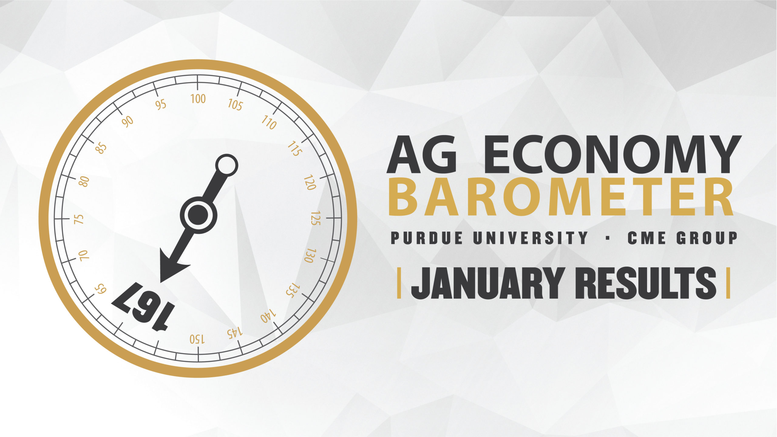 Ag Economy Barometer Widget January 2020: 167