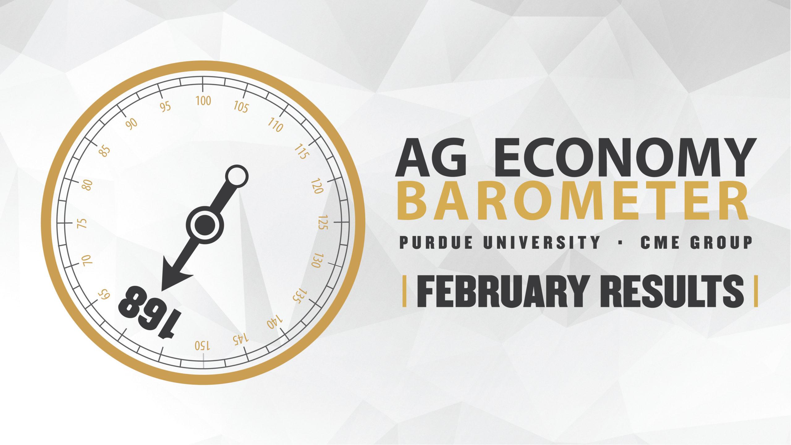 Ag Economy Barometer Widget February 2020: 168