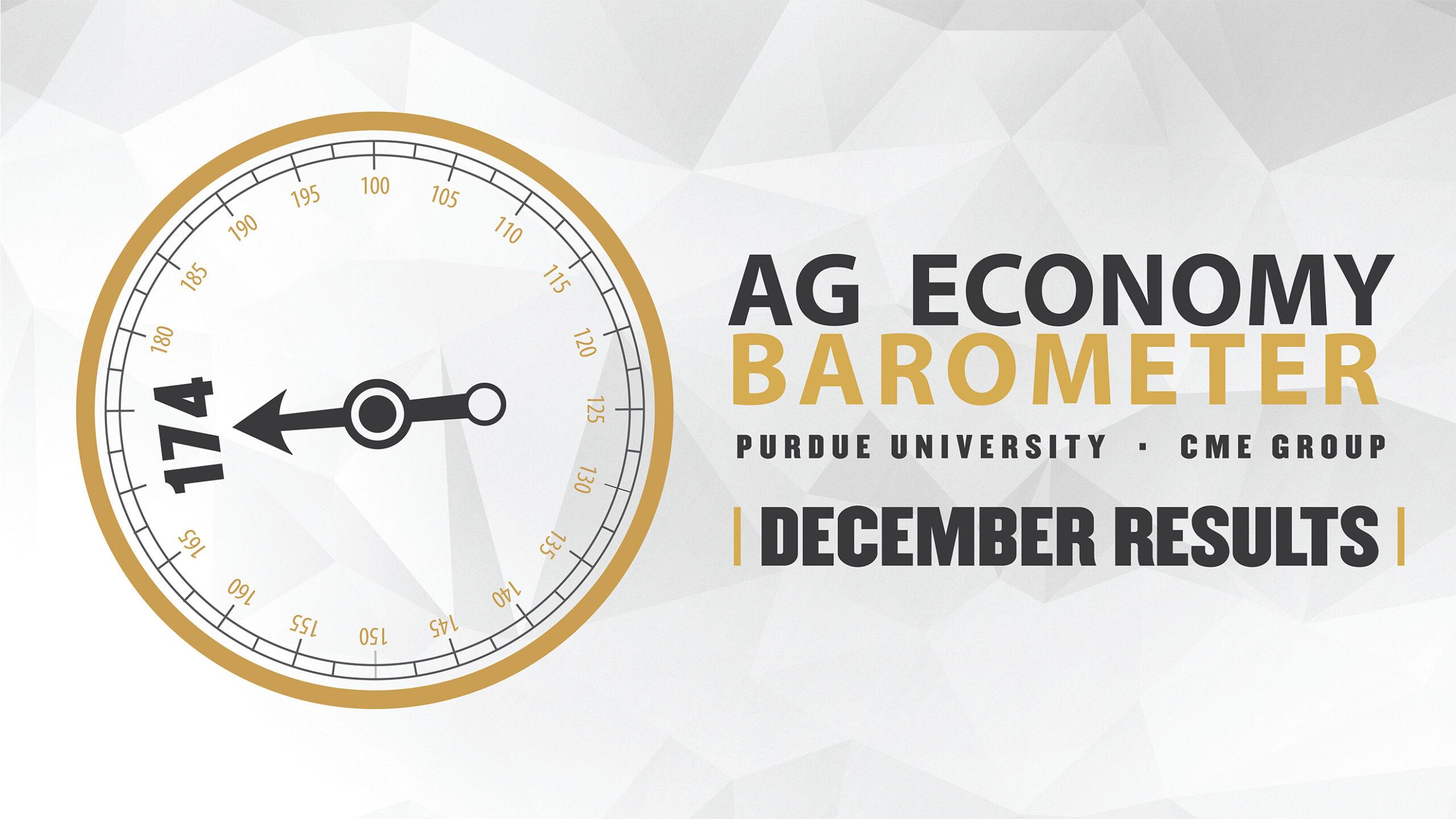 Ag Economy Barometer Widget December 2020: 174