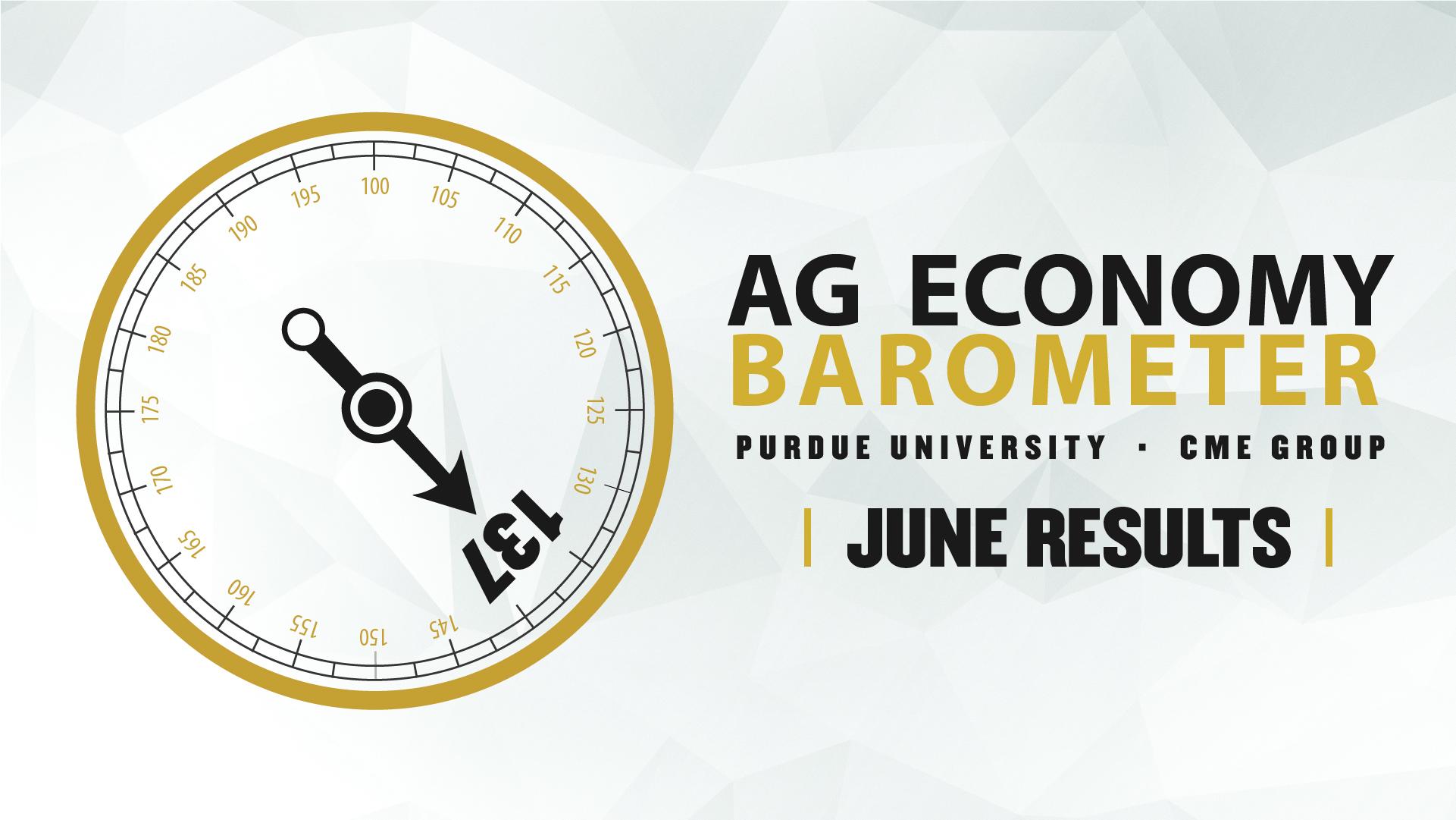 Ag Economy Barometer Widget June 2021: 137