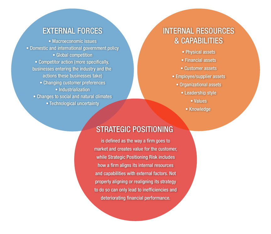 Three categories of strategic risk.