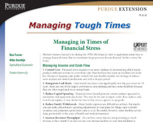 Managing in Times of Financial Stress