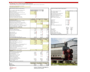 Iowa State's Corn Drying and Shrink Comparison decision tool