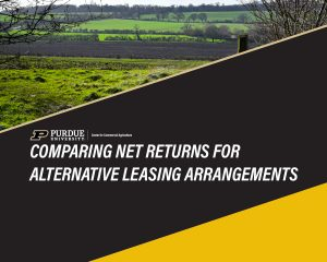 Comparing Net Returns for Alternative Leasing Arrangements