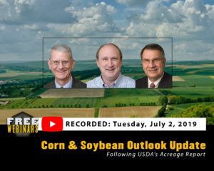 Corn and Soybean Outlook Update Webinar Recording
