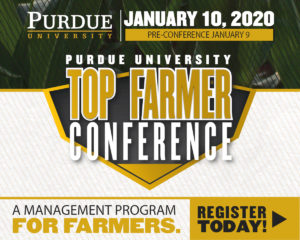 Top Farmer Conference, Jan. 9-10, 2020. A Management Program For Farmers.