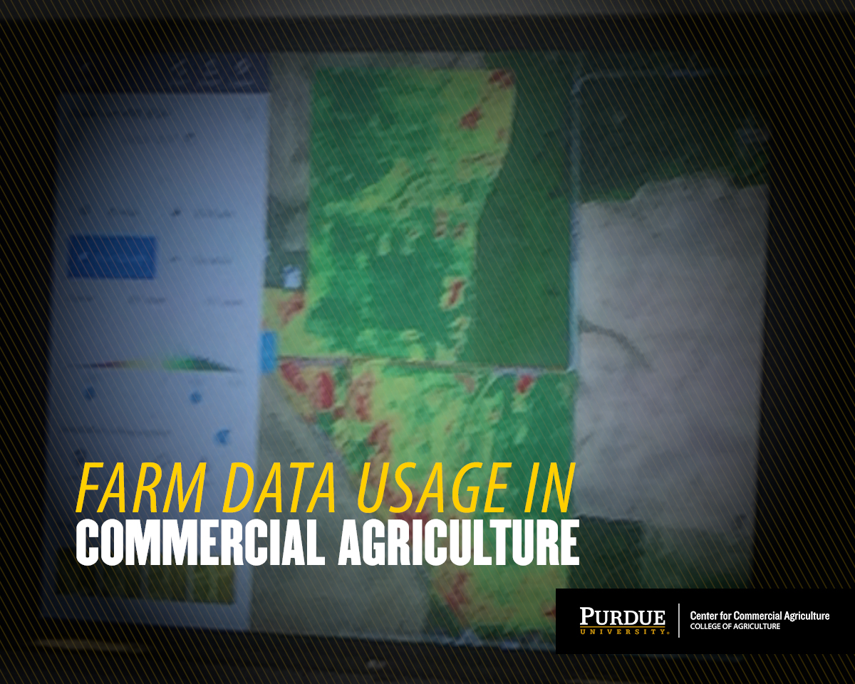 Farm Data Usage in Commercial Agriculture