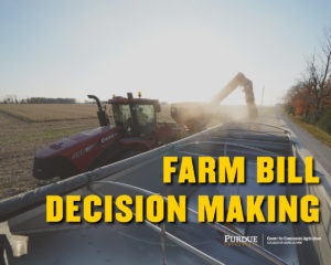 Farm Bill Decision Making