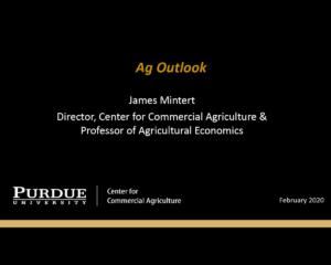 Ag Outlook on Feb. 18, James Mintert