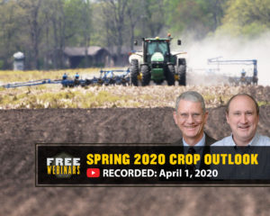 Spring 2020 Crop Outlook webinar, April 1