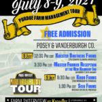 2021 Purdue Farm Management Tour Flyer