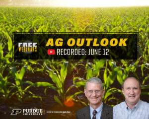 Ag Outlook webinar, recorded June 12, 2020