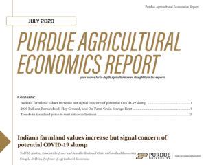 Purdue Agricultural Economics Report, July 2020