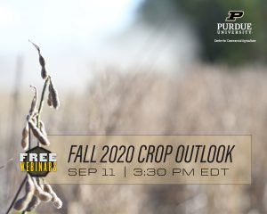 Fall 2020 Crop Outlook Webinar, Sept. 11