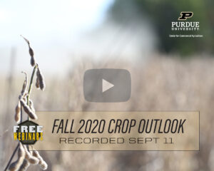 Fall 2020 Crop Outlook Webinar recording