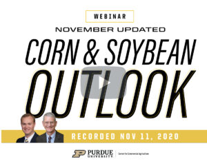 November 2020 Corn and Soybean Outlook Update Webinar recording