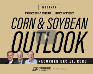 December 2020 Corn and Soybean Outlook Update Webinar recording