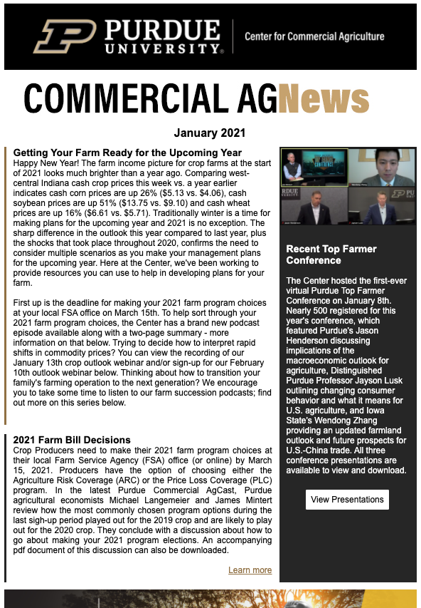 Commercial AGNews, January 2021