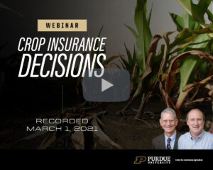 2021 Crop Insurance Decisions webinar, March 1, 2021
