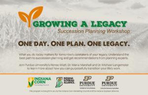 Growing A Legacy workshop postcard front