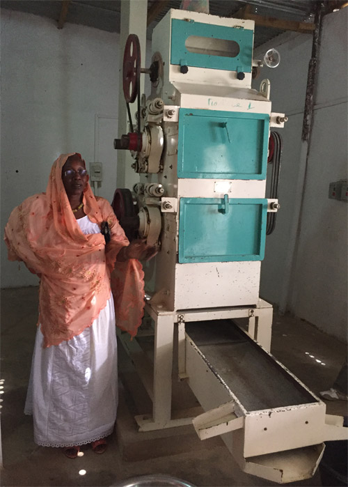 Madame Astou Gaye Mbacke's processing plant in Senegal produces fortified cerealbased products with grain grown by local farmers. She now employs over 100 people at the plant and distributes its products through a countrywide network of women entrepreneurs.