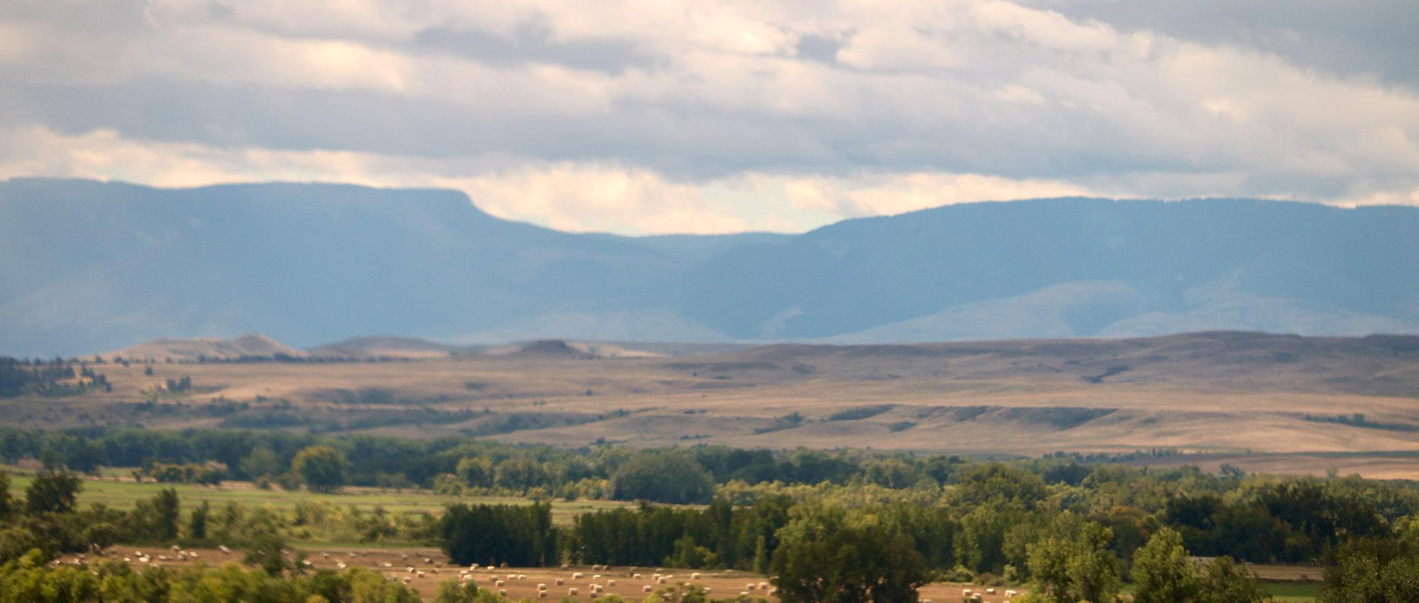 Crow Indiana Reservation landscape