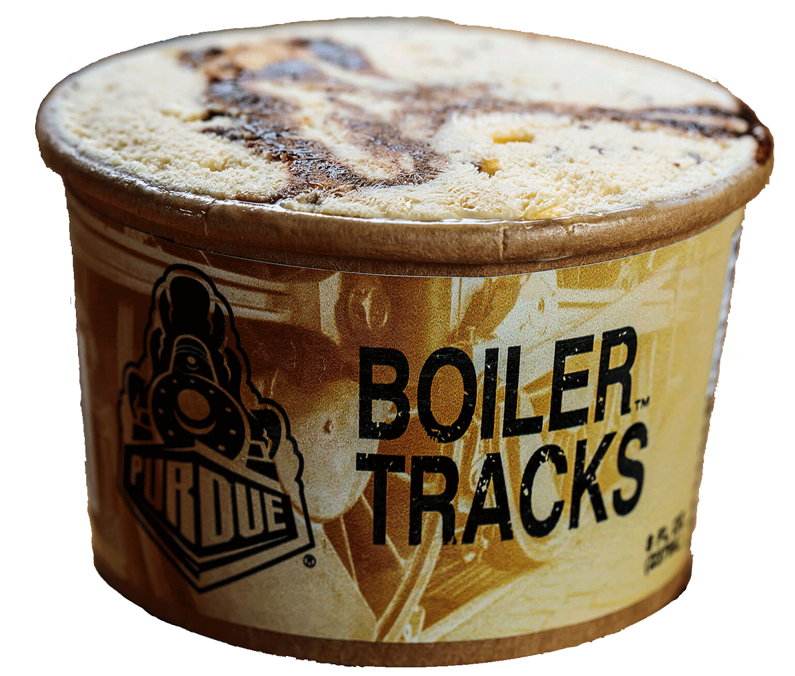 Boiler tracks ice cream