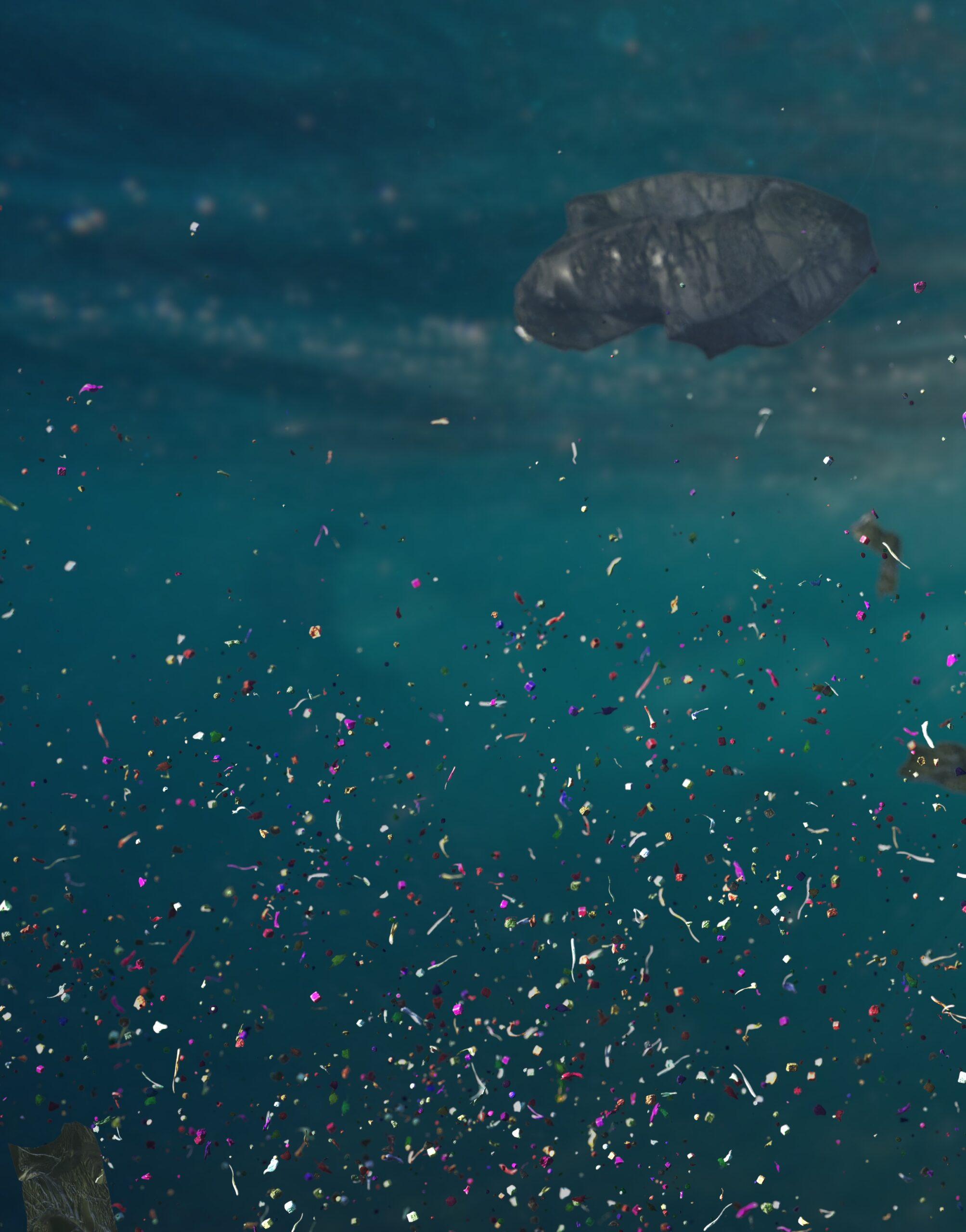 Contamination in the ocean