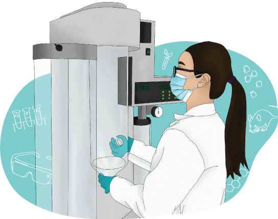 Yao in the lab illustration