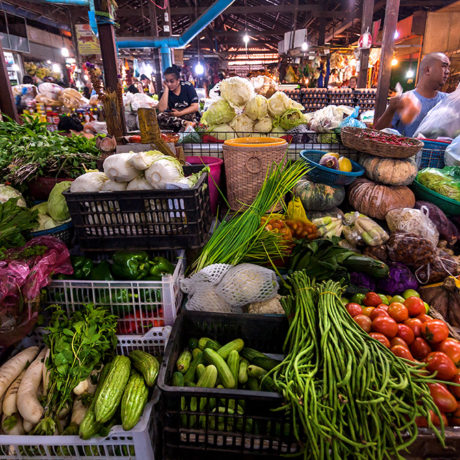 Image for Bacterial contamination in fresh vegetables: Focusing interventions in Cambodia