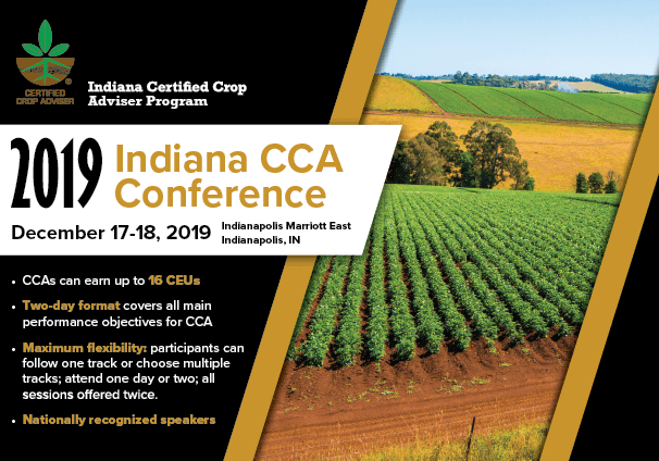 Postcard for the Indiana CCA Conference of 2019