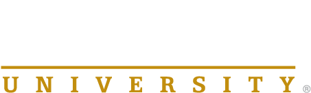 Purdue University Logo white & gold