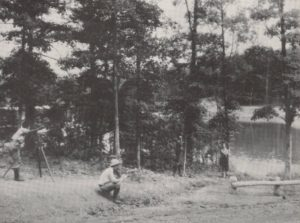 Purdue Forestry Camp in 1940