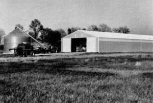 photo of 1980 farm barn and equipment
