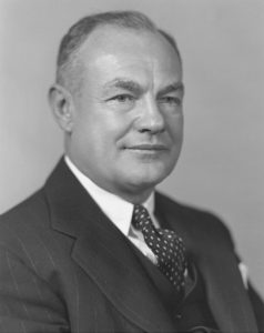 Photo of Claud R. Wickard, 12th Secretary of Agriculture, 1940-1945
