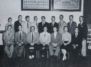 Photo of Ag Council in 1955