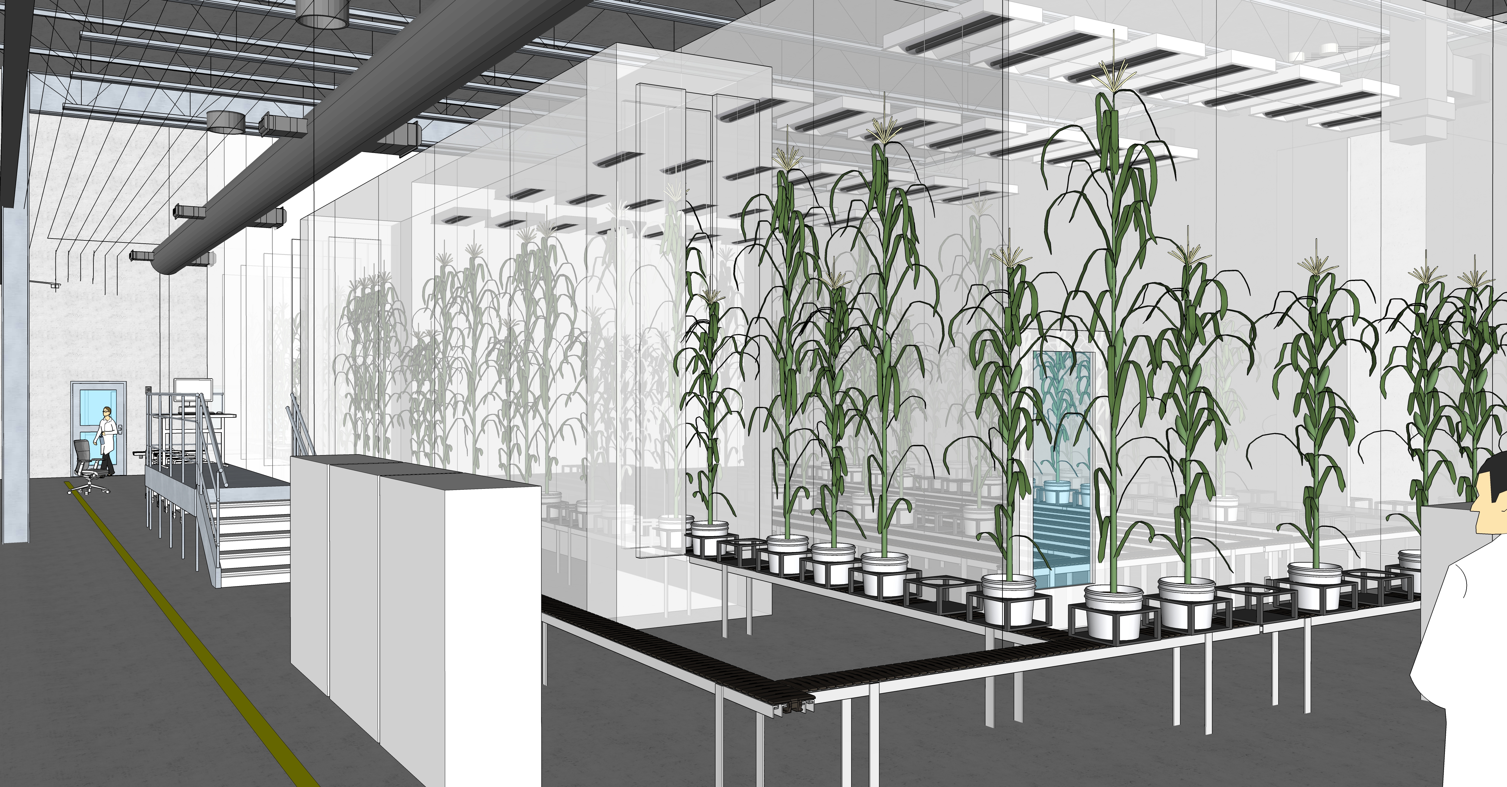 Controlled Environment Phenotyping Facility