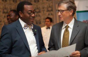 World Food Prize Laureate, Akinwumi Ayodeji Adesina, with Bill Gates