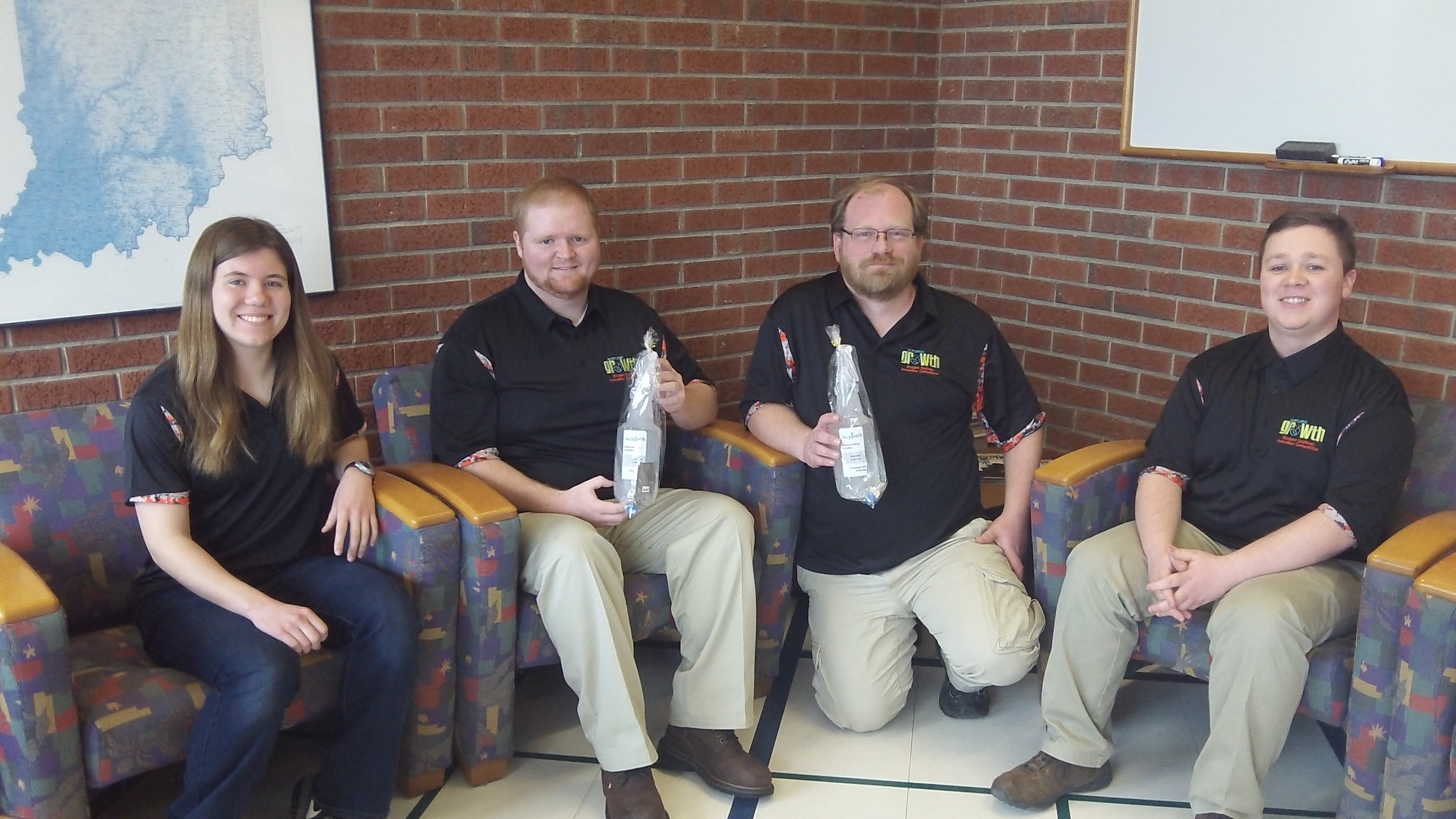 Purdue student team develops hydroseeding adhesive to win Student Soybean Innovation Competition