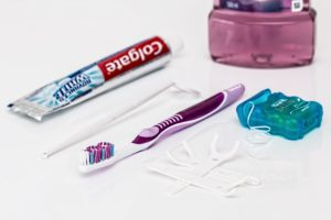 tooth care supplies