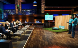 Robin pitch in front of investors on Shark Tank