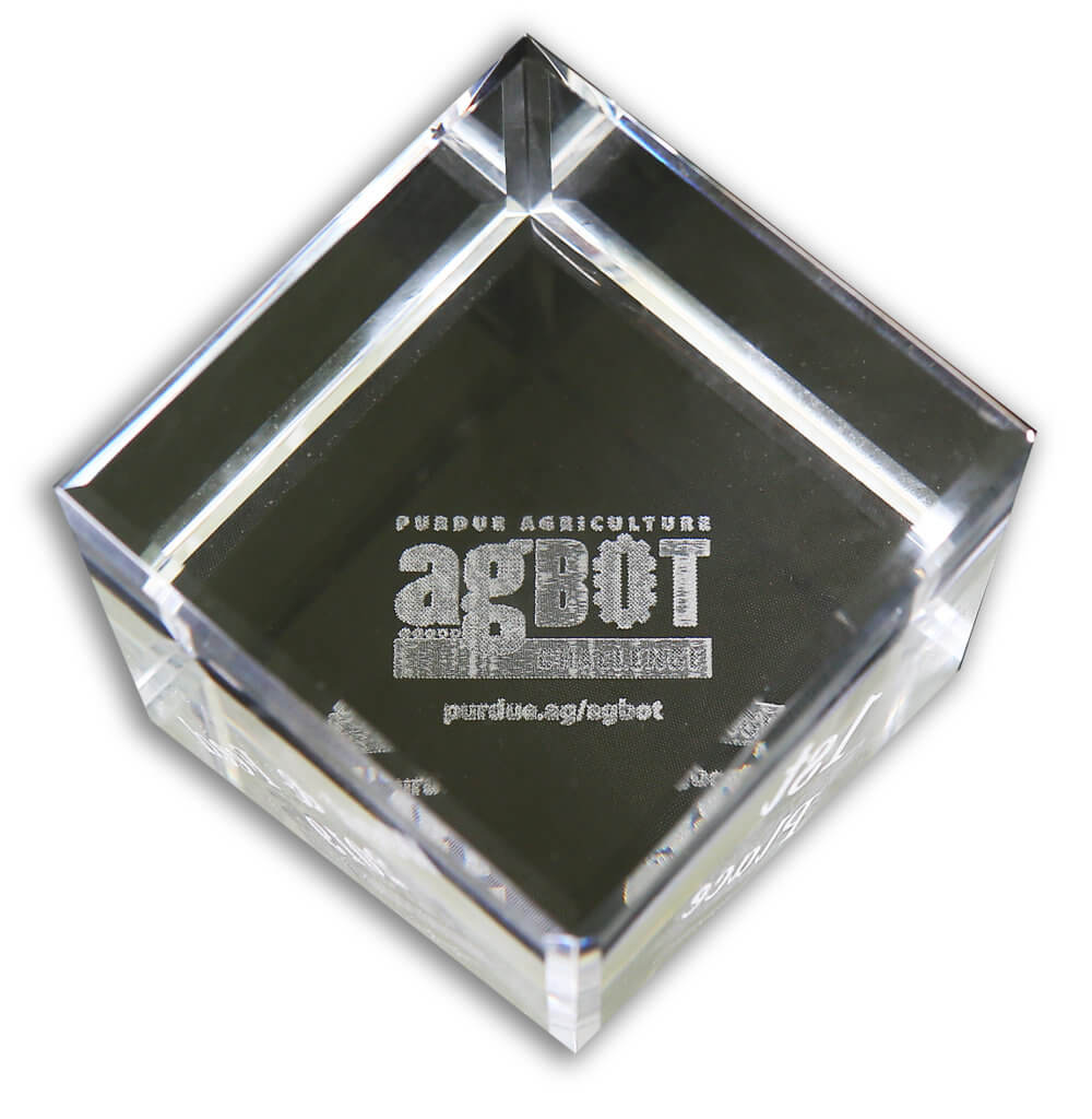 The agBOT trophy