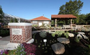 New horticulture teaching garden christened