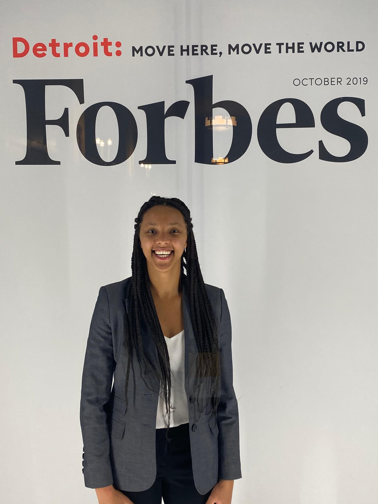 West at the Forbes 30 Under 30 2019 Summit. Photos provided.