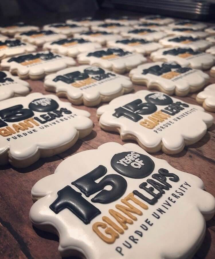 150 Years of Giant Leaps Cookies