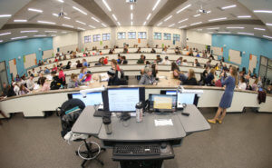 Karcher's Classroom full of students